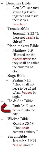 Bible Nicknames